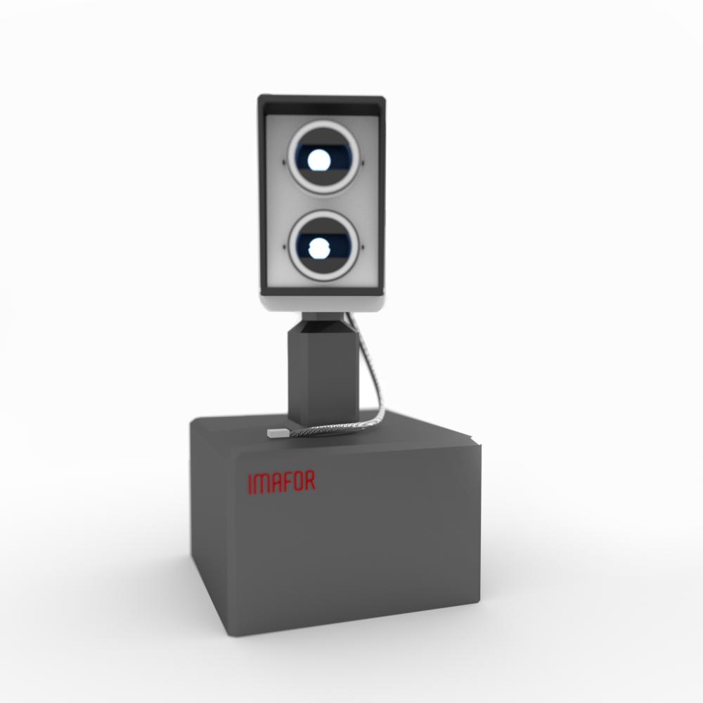 3d-modell av Imafors kamera