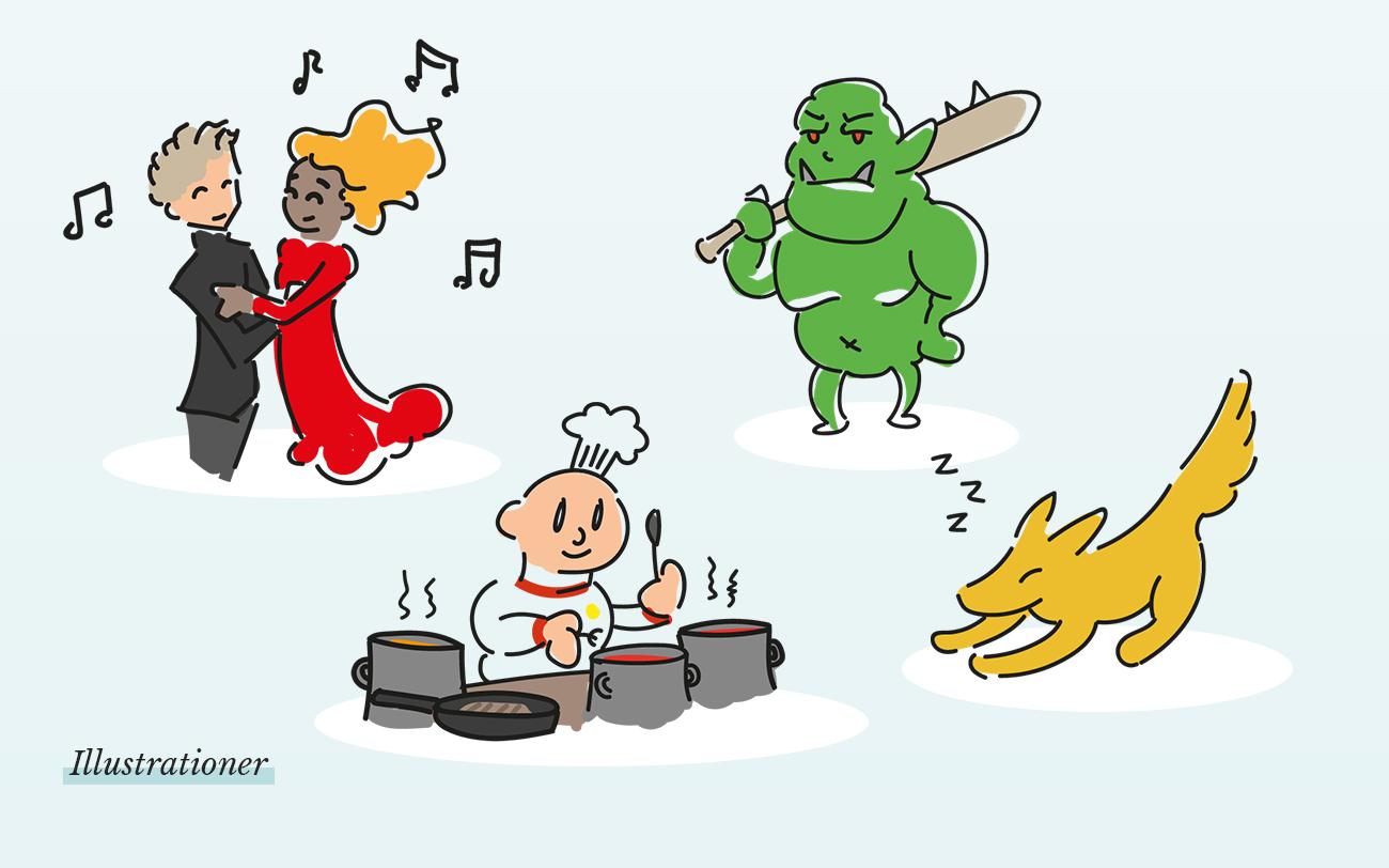 Diverse illustrationer